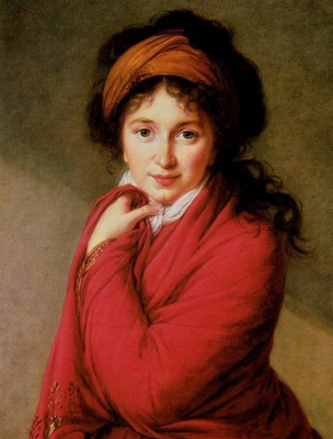 Elizabeth Vigee Le Brun. Portrait of Countess Varvara Golovina