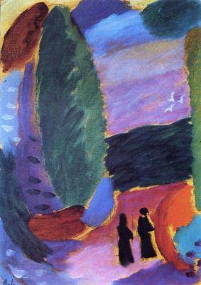 Alexej von Jawlensky. Variation: Two Figures in Autumn
