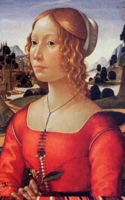 Доменико Гирландайо. Портрет дамы