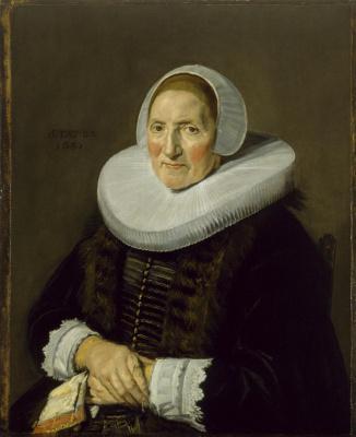 Frans Hals. Portrait of an elderly woman