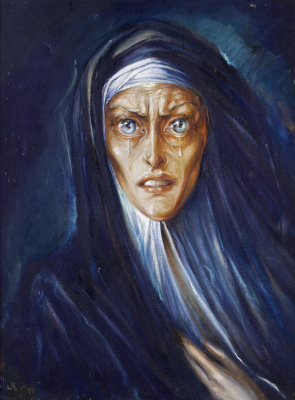 Pavel Petrovich Ivanov. Sorrowful Mother Of God. 1944