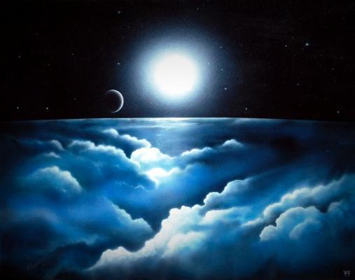 CEA 73. Path through cosmic clouds