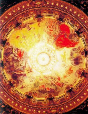 Marc Chagall. The ceiling of the Paris Opera II