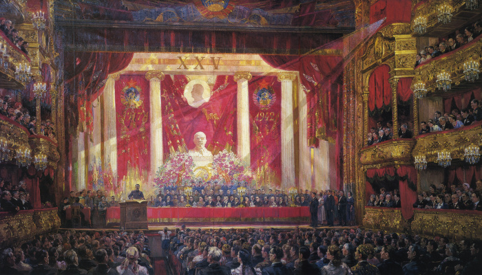 Alexander Mikhailovich Gerasimov. Hymn To October. 1942
