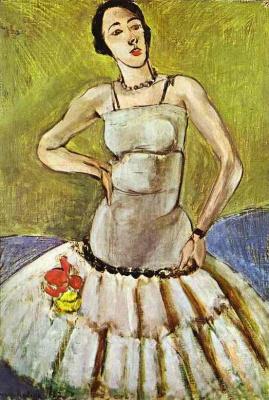 Henri Matisse. Ballerina. Harmony in grey