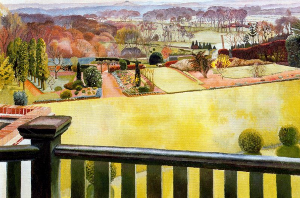 Stanley Spencer. A park