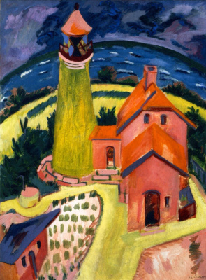 Ernst Ludwig Kirchner. Lighthouse