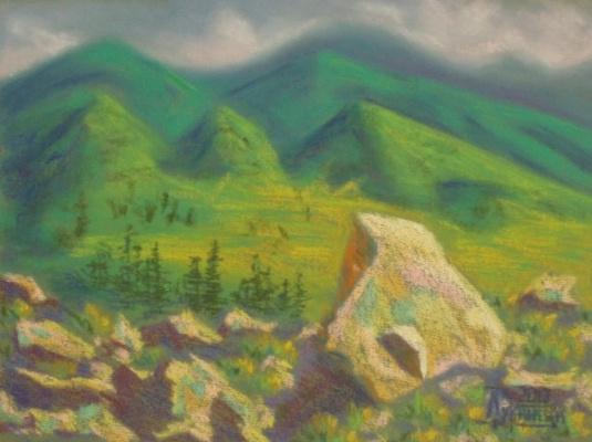 Larissa Lukaneva. Altai stones