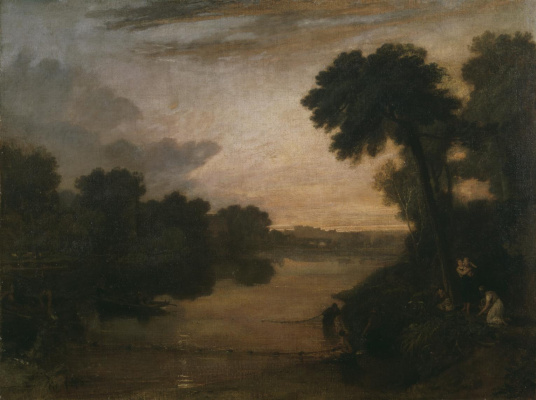 Joseph Mallord William Turner. The Thames near Windsor