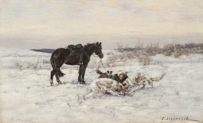 Сергей Семенович Ворошилов. Охота начало ХХ вв