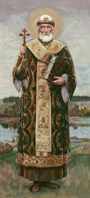 Wilhelm Kotarbinsky. St. Metropolitan Philip Of Moscow