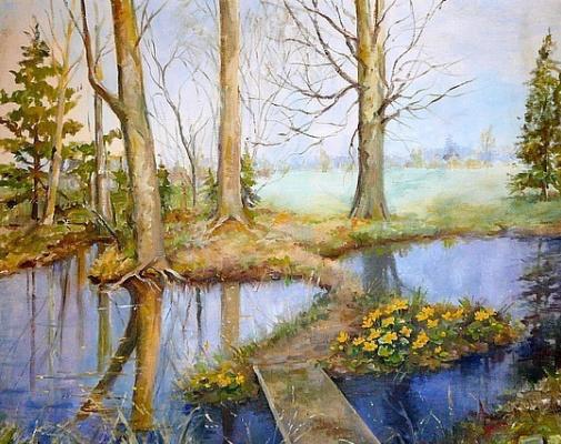 Olga Alexandrovna Romanova. Pond