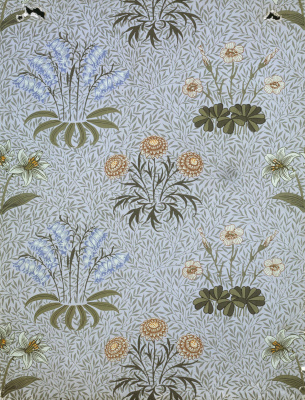 William Morris. Spring thickets