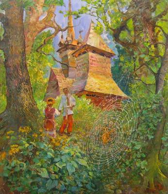 Александр Алексеевич Дубровский. The Great Spinneret Painting by Oleksandr Dubrovskyy
