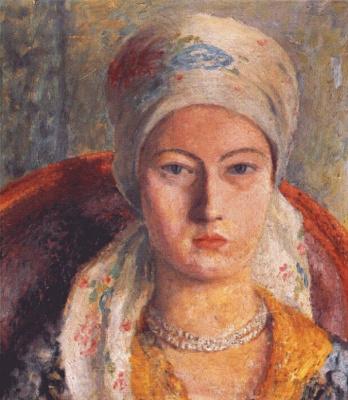 Дора Каррингтон. Портрет дамы
