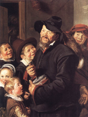 Frans Hals. The Potter-musician (the workshop of Frans Hals)