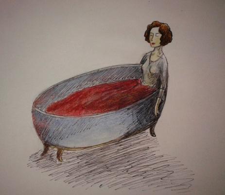Zina Vladimirovna Parisva. Bath