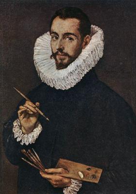 Эль Греко (Доменико Теотокопули). Портрет сына художника, Хорхе Мануэль Теотокопулос