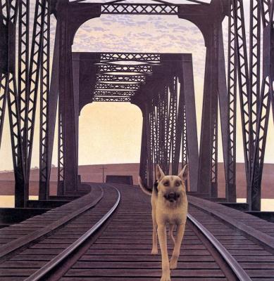 Алекс Колвилл. Собака и мост
