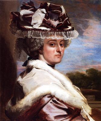 John Singleton Copley. Portrait Of Letitia F. Balfour
