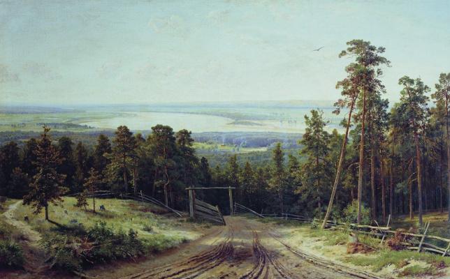 Ivan Ivanovich Shishkin. Kama near Elabuga