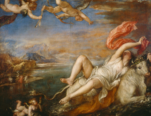Titian Vecelli. The Rape Of Europa