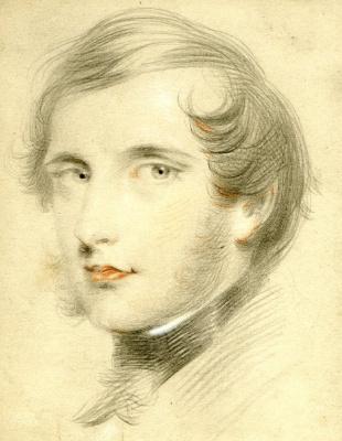 Franz Xaver Winterhalter. Portrait of an unknown young man