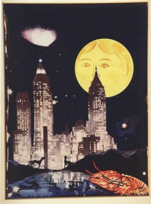 Salvador Dali. The moon