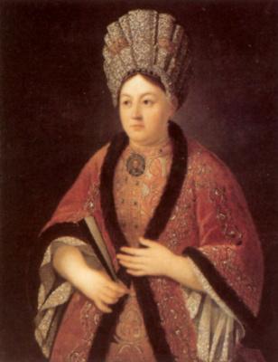 Иван Никитич Никитин. Портрет Марии Яковлевны Строгановой