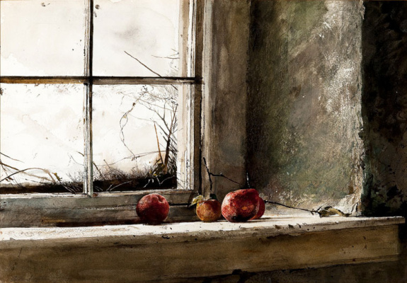 Andrew Wyeth. Frozen