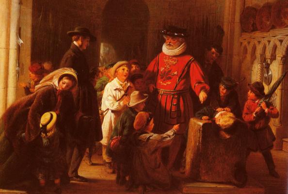 Генри Нельсон О'Нил. Дети в башне