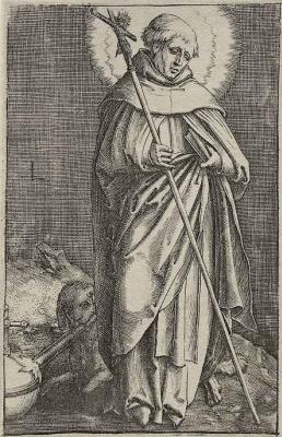 Лукас ван Лейден (Лука Лейденский). Святой Доминик