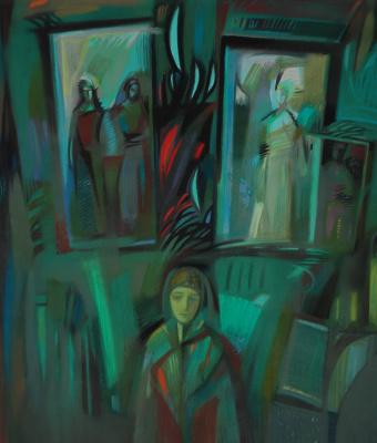 "Rumyana Vnukova. Psalms series Psalm 55 ""Lay my tears ..."""