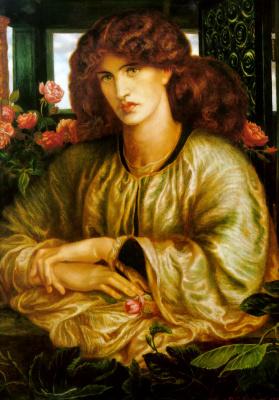 Данте Габриэль Россетти. Женщина в окне