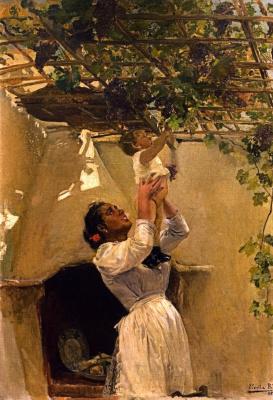 Joaquin Sorolla (Soroya). Vine