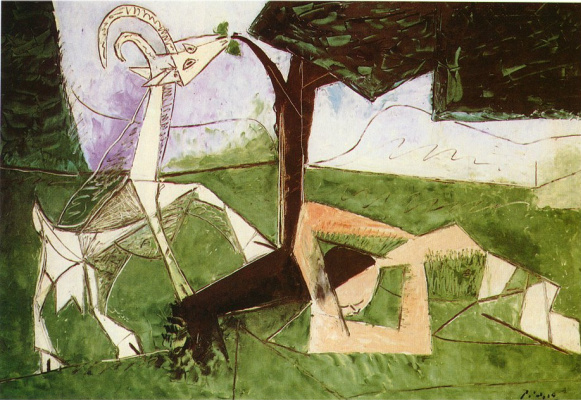 Pablo Picasso. Spring