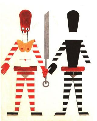 """Anatoly Galaktionovich Petritsky. Executioner costume. Opera J. Puccini """"Turandot"""""""