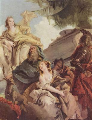 Giovanni Battista Tiepolo. The Sacrifice Of Iphigenia