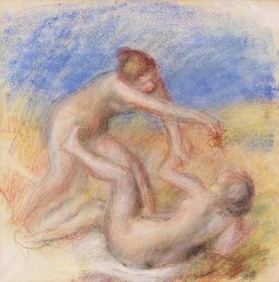 Pierre-Auguste Renoir. Two Nudes
