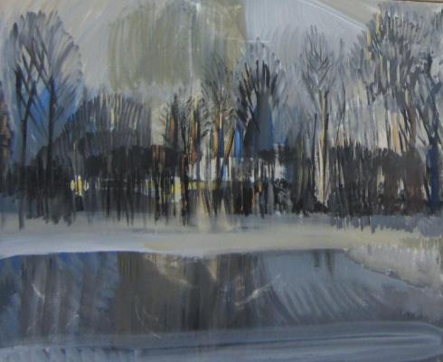 Ирина Павловна Калинина. Winter landscape