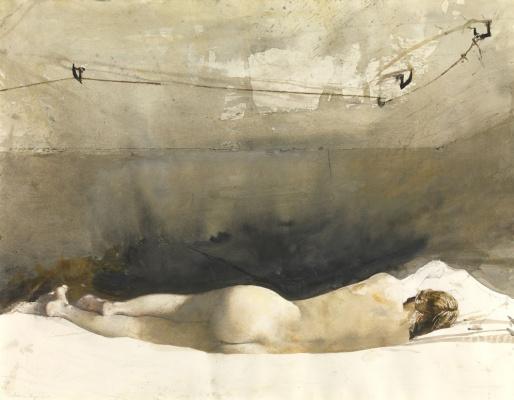 "Andrew Wyeth. Barack (from the series ""Helga"")"