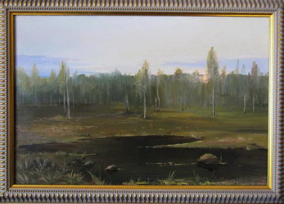 """Евгений Геннадиевич Лактионов. """"Among the swamps"""""""