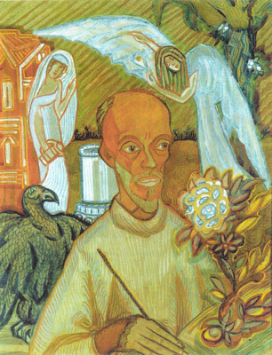 Sergey Yurevich Sudeikin. Portrait Of N. I. Kulibina. Cartoon