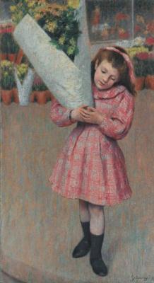 Federico Zandomenegi. A bouquet of flowers (Holiday)