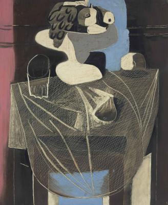 Пабло Пикассо. Натюрморт с рыболовной сетью