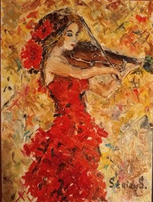 Svetlana Sergeevna Silchuk. Violinist