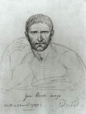 Jacques-Louis David. Brutus