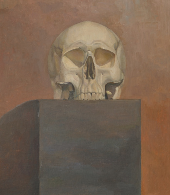 Pavel Viktorovich Petrov. Still life with skull