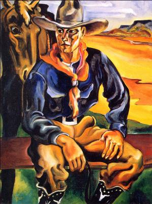 Вернон Хантер. Рабочий на ферме