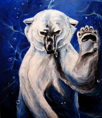 Love Semenkova. Unity. Polar bear